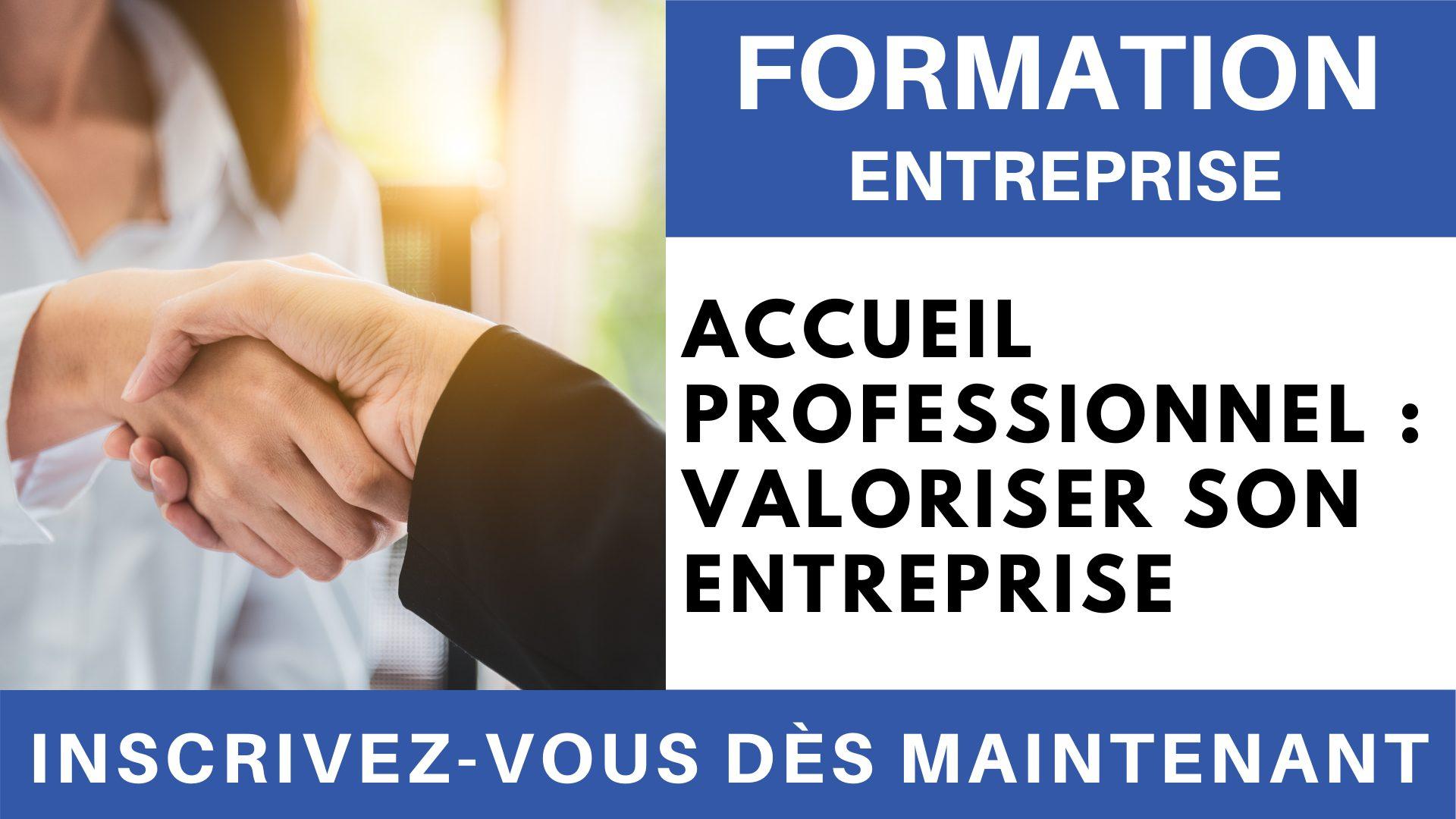 Formation Entreprise - Accueil professionnel