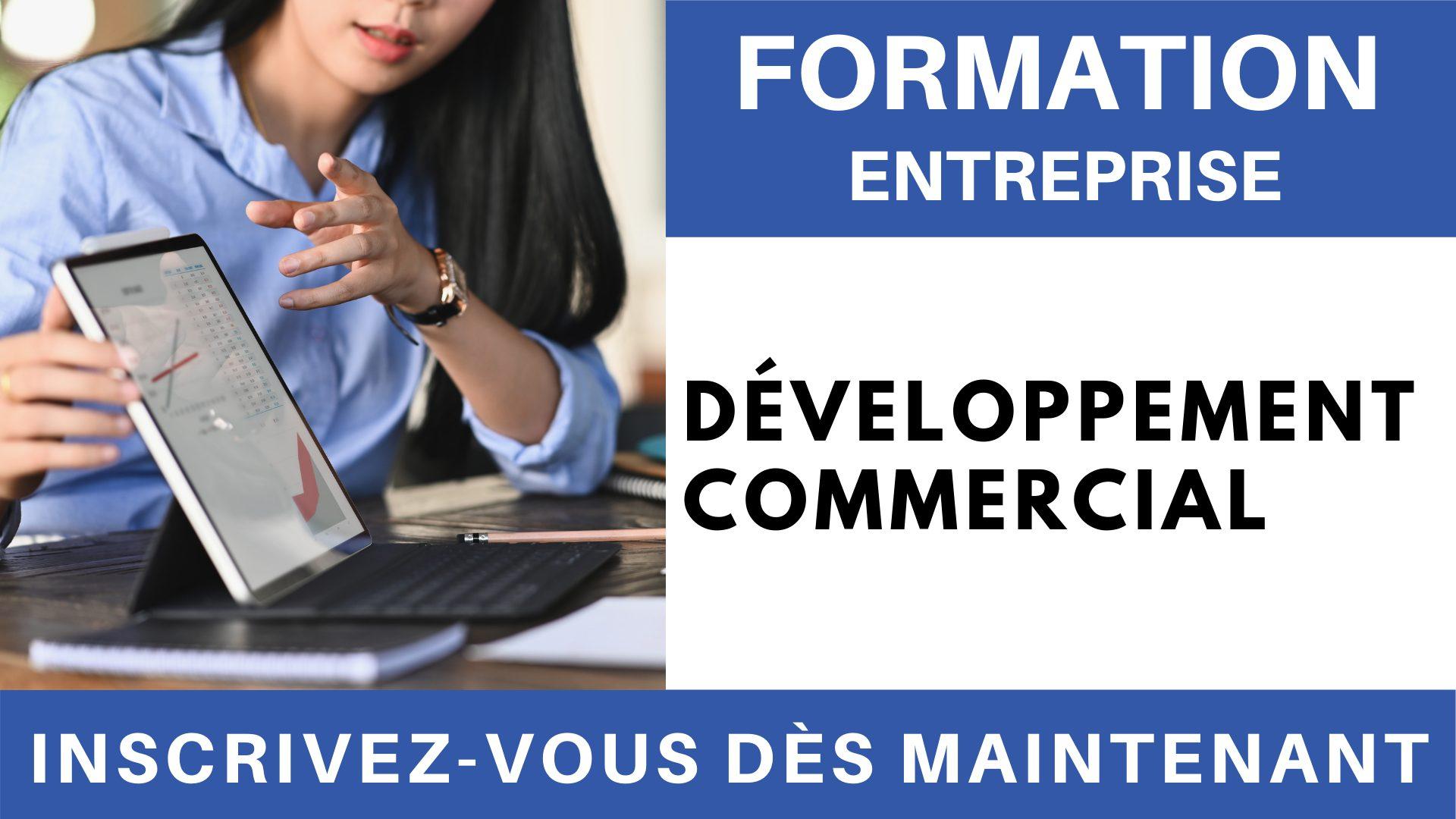 Formation Entreprise - Développement commercial