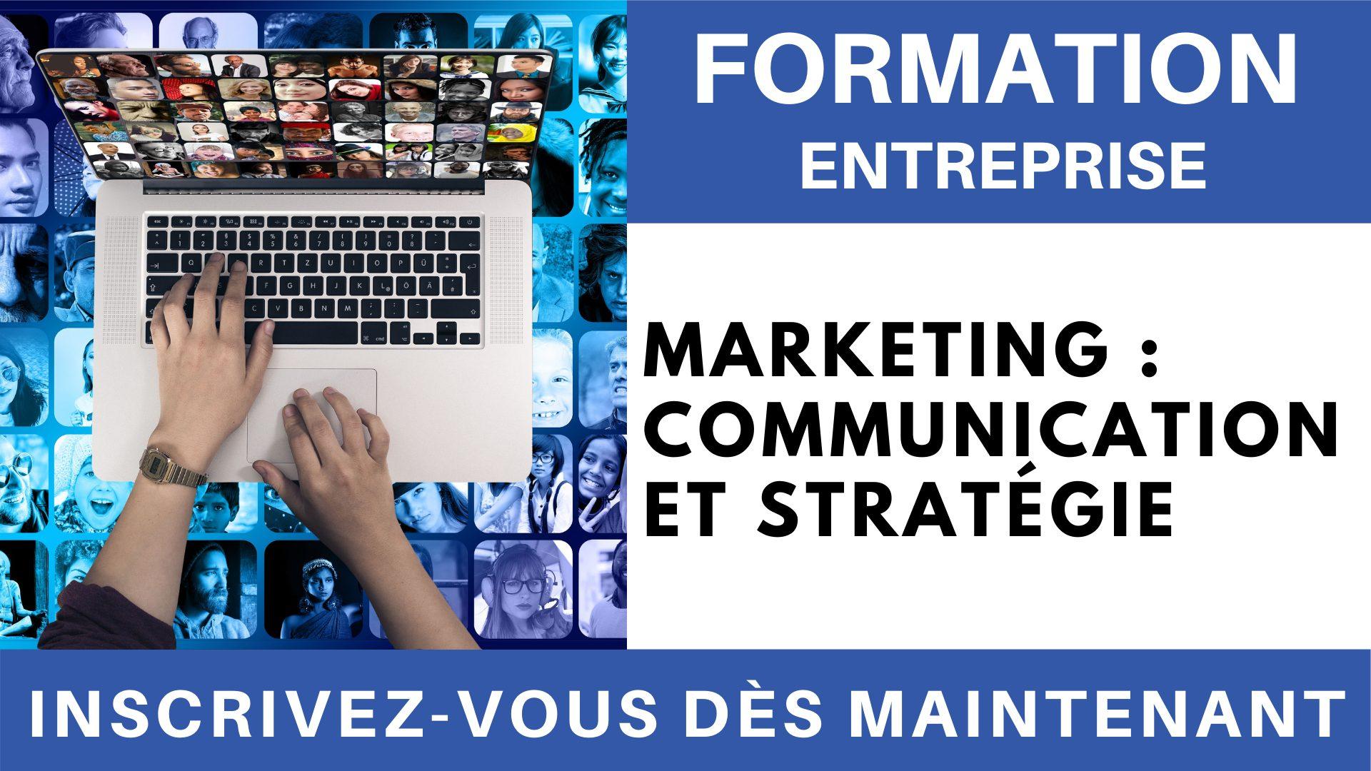 Formation Entreprise - Marketing - Communication et stratégie
