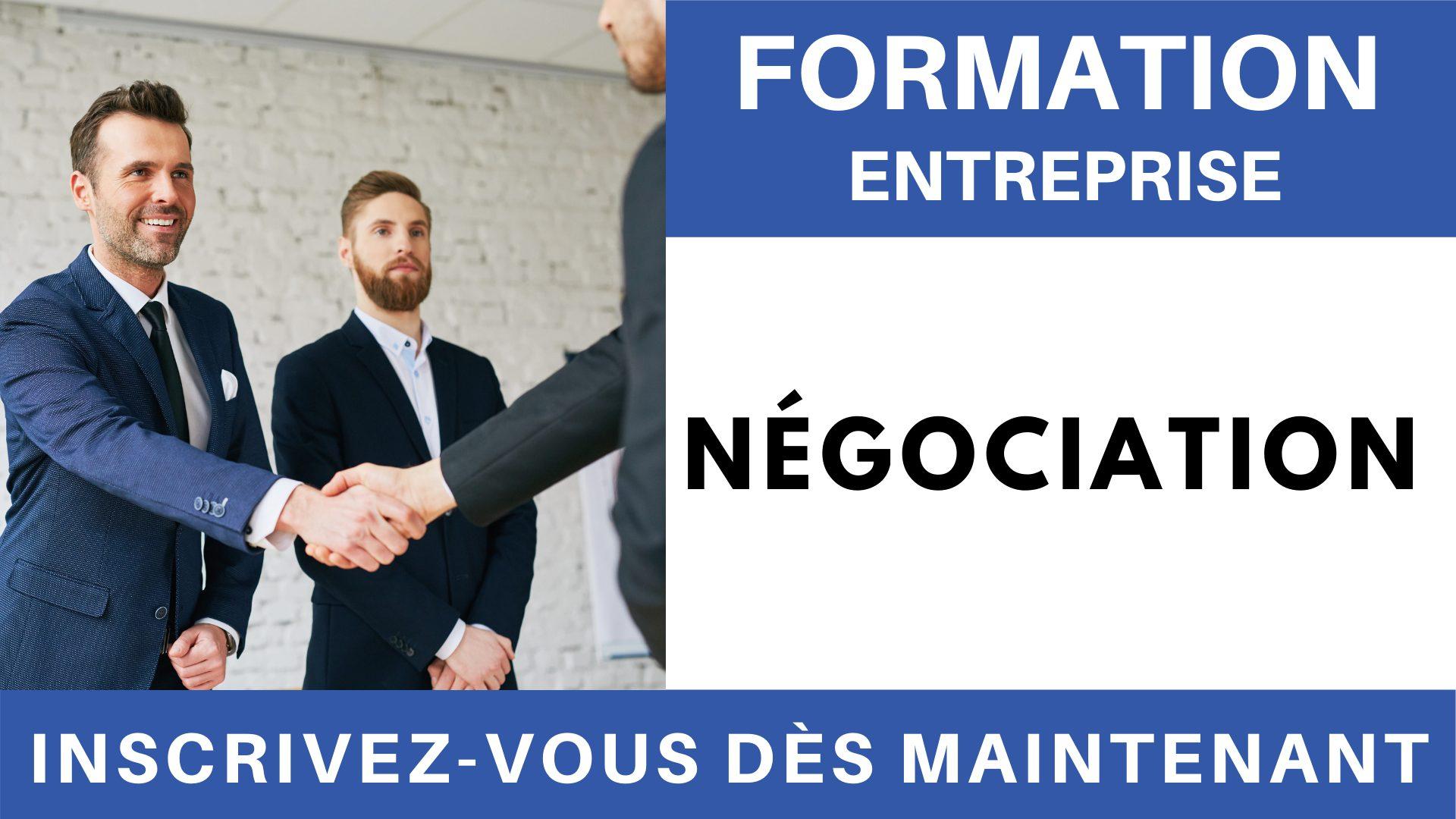 Formation Entreprise - Négociation