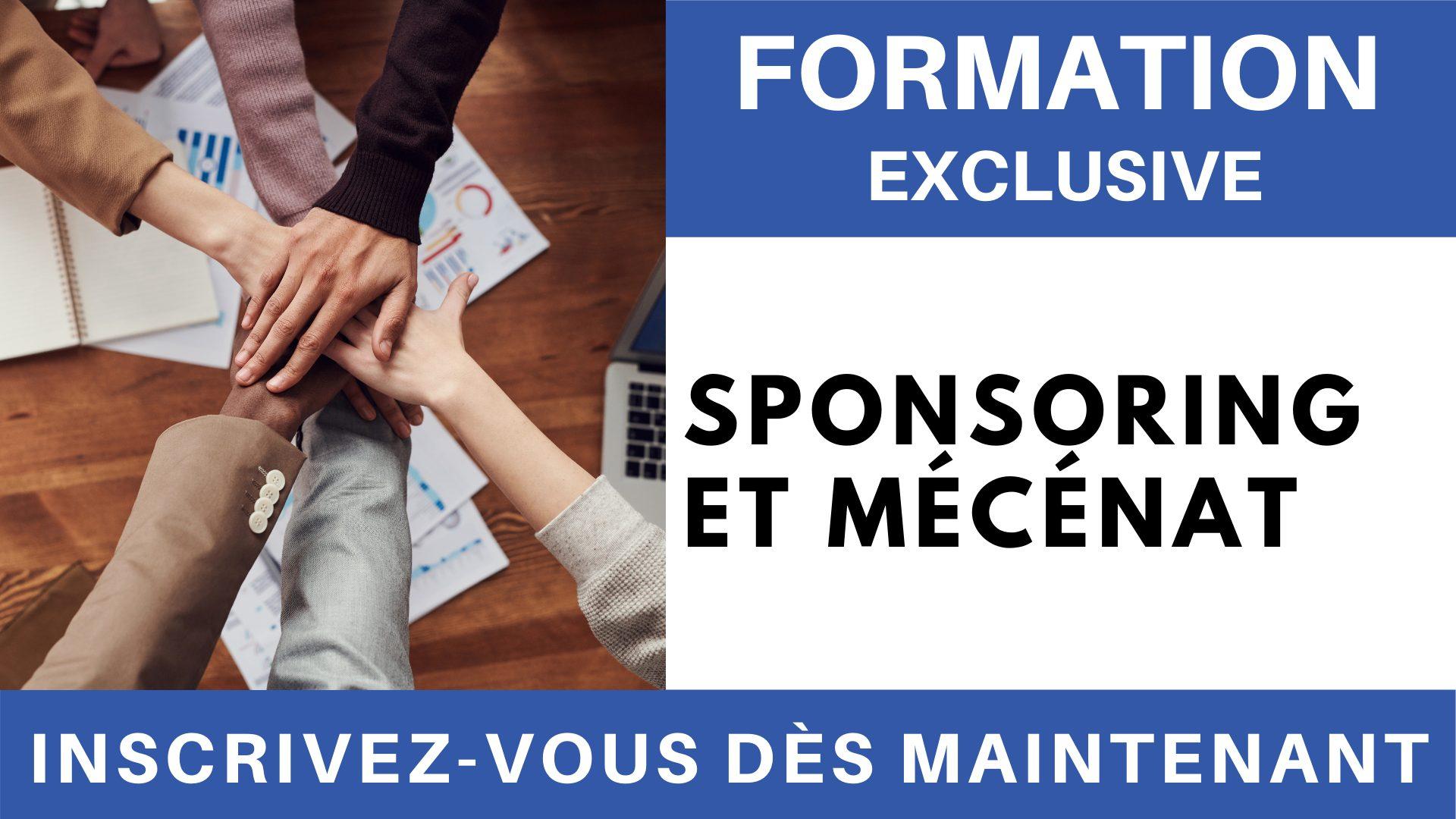 Formation Exclusive - Sponsoring et Mécénat
