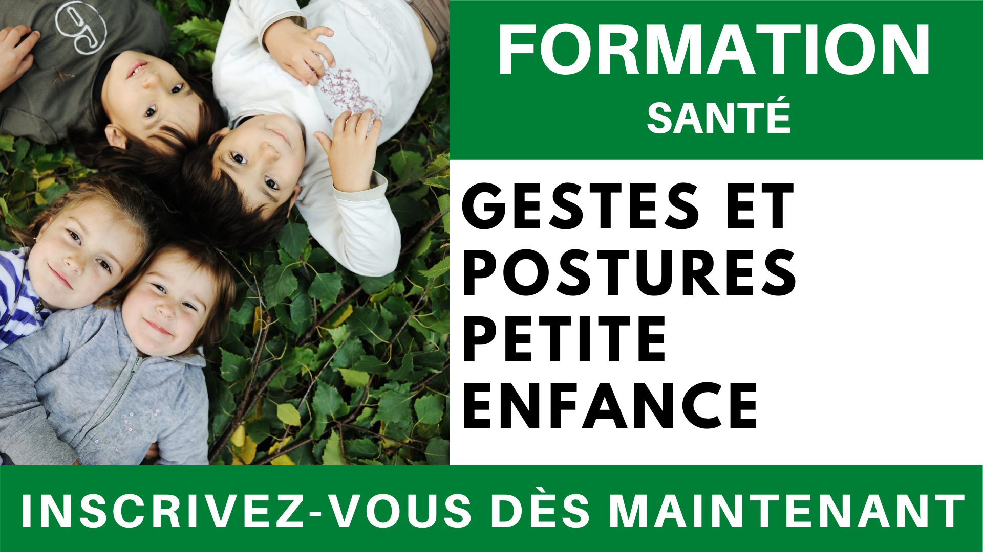 Formation SANTE - Gestes et postures petite enfance