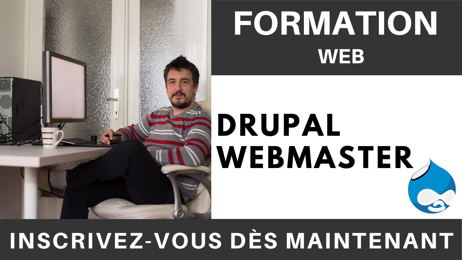 Formation WEB - Drupal Webmaster
