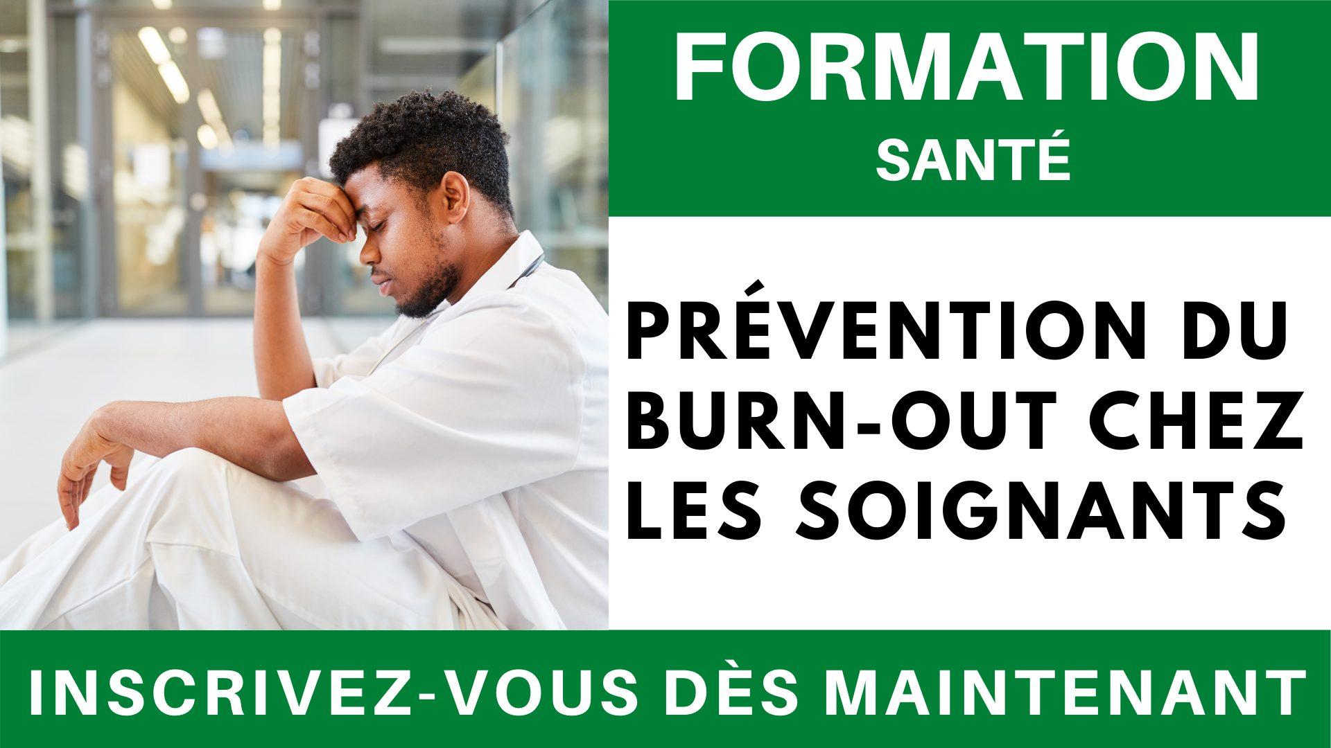 Formation SANTE - Prévention burn-out chez les soignants