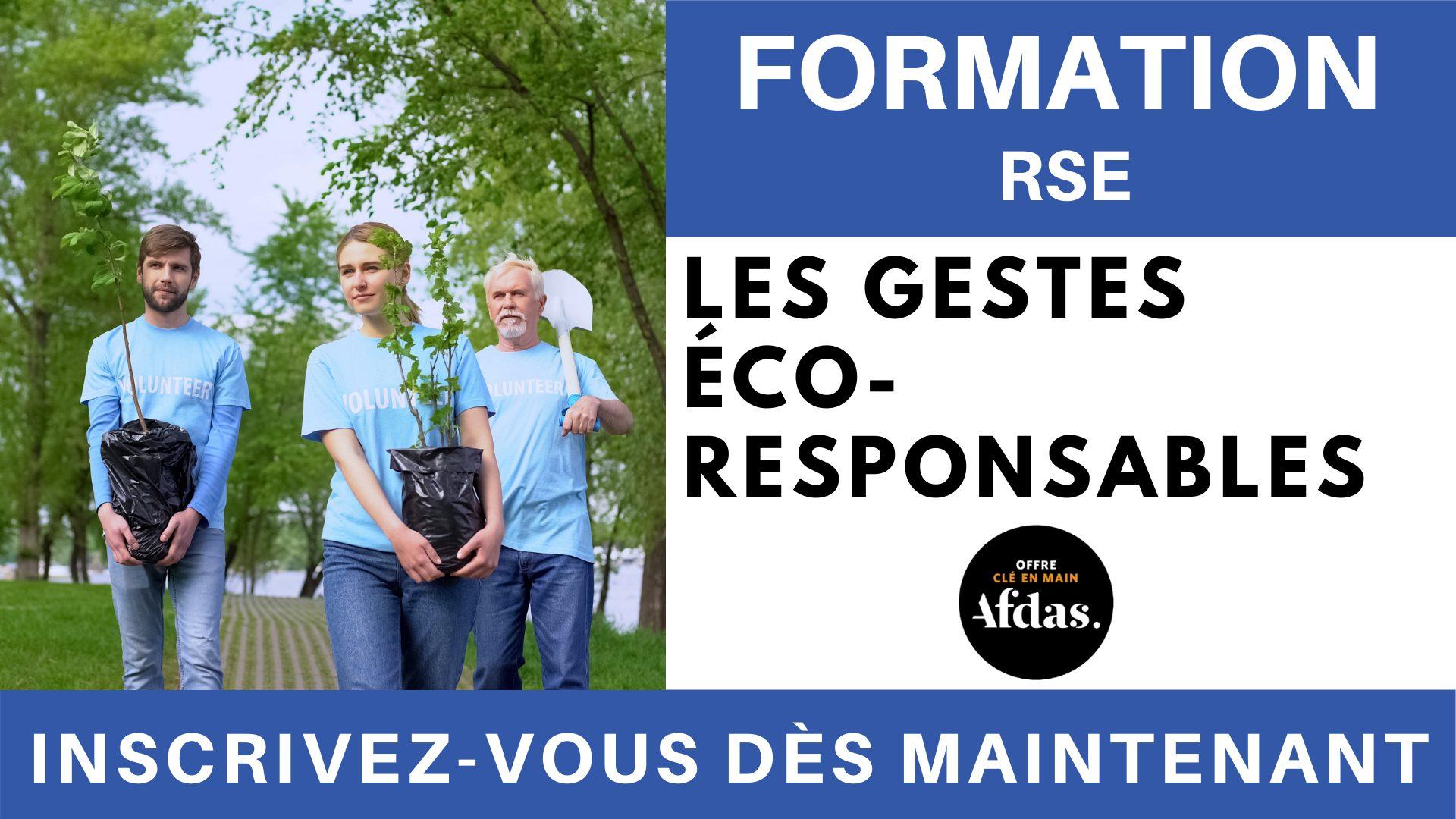 Formation RSE - Les gestes éco-responsables (1)