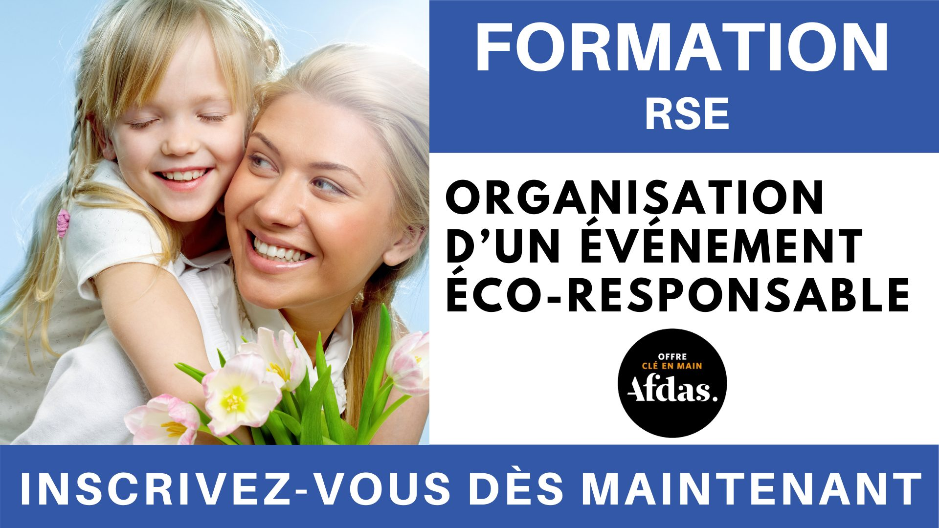 Formation RSE - Organisation d'un événement éco-responsable