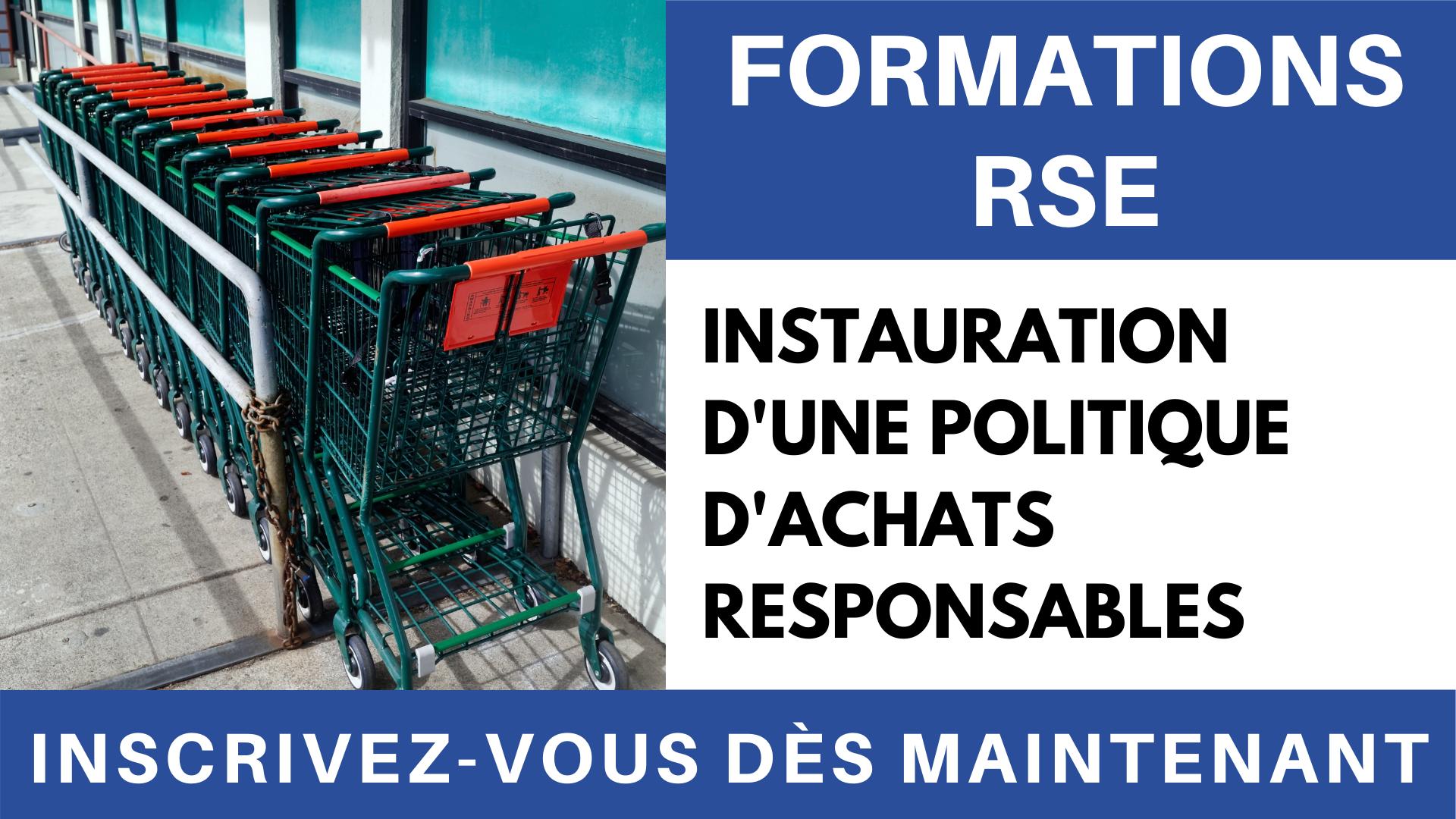Vidéo - Formation RSE _ Achats responsables