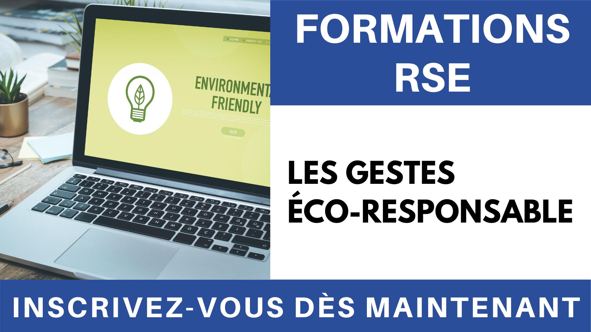 Vidéo - Formation RSE _ Les gestes éco-responsables