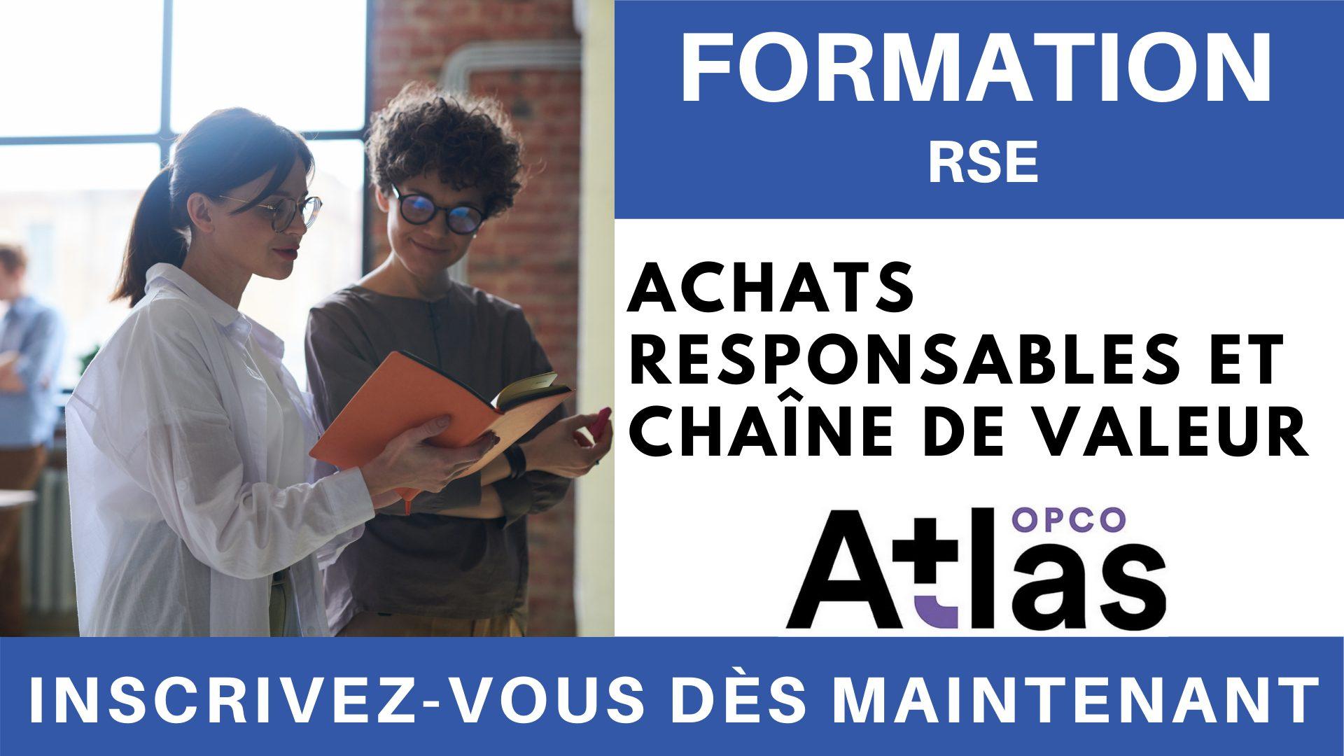 Formation RSE - Achats responsables et chaîne de valeur