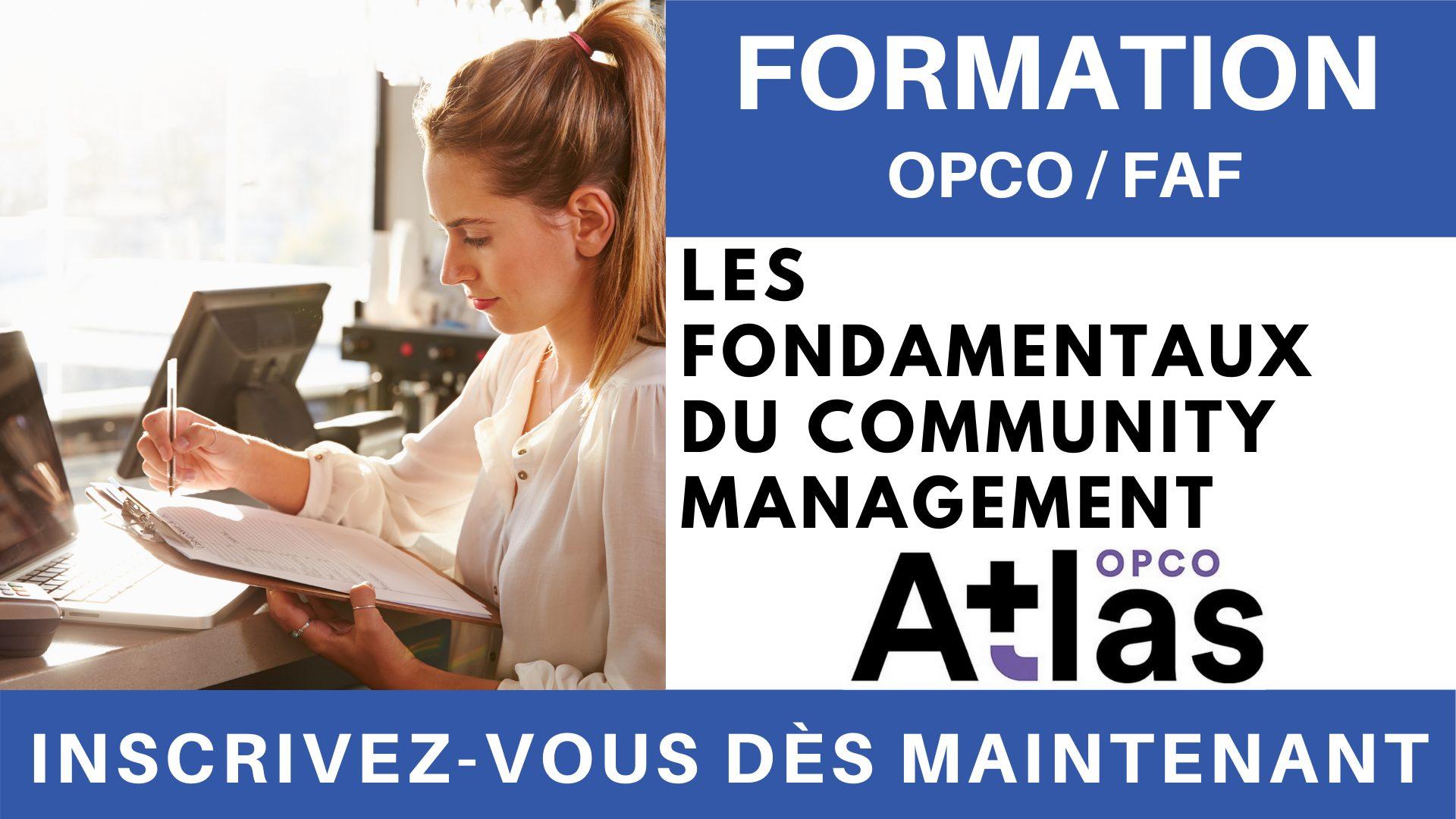 Formation OPCO FAF - Les fondamentaux du Community Management