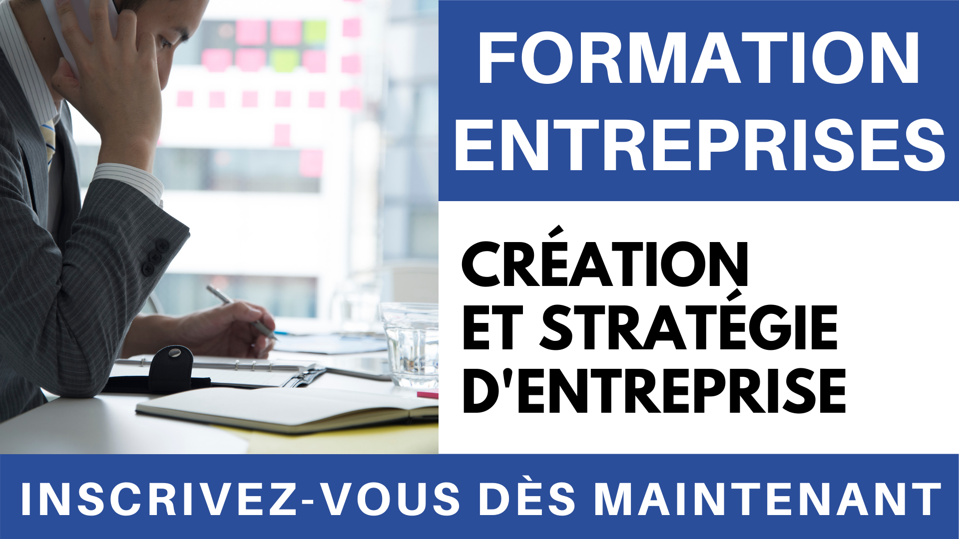 Vidéo - Formation création et stratégie d'entreprise
