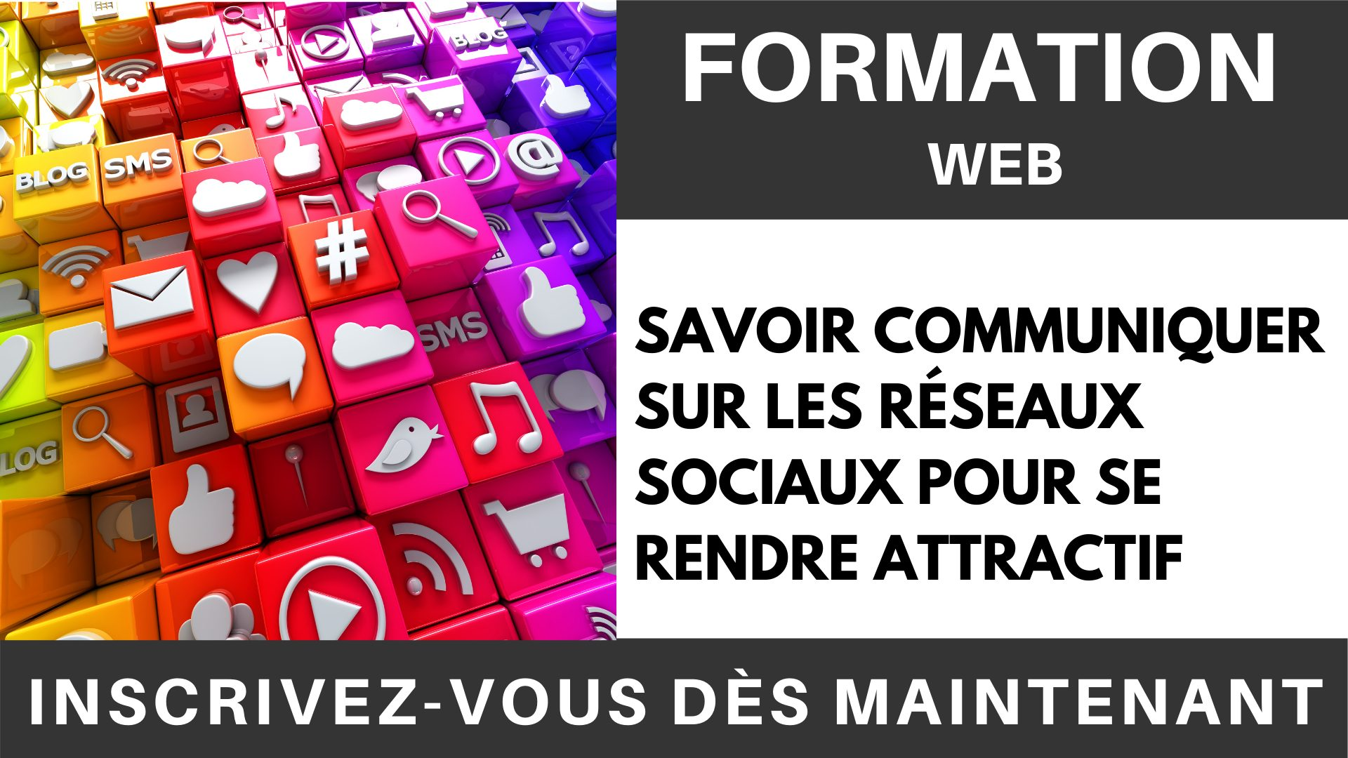 Formation WEB - Communiquer sur les réseaux sociaux