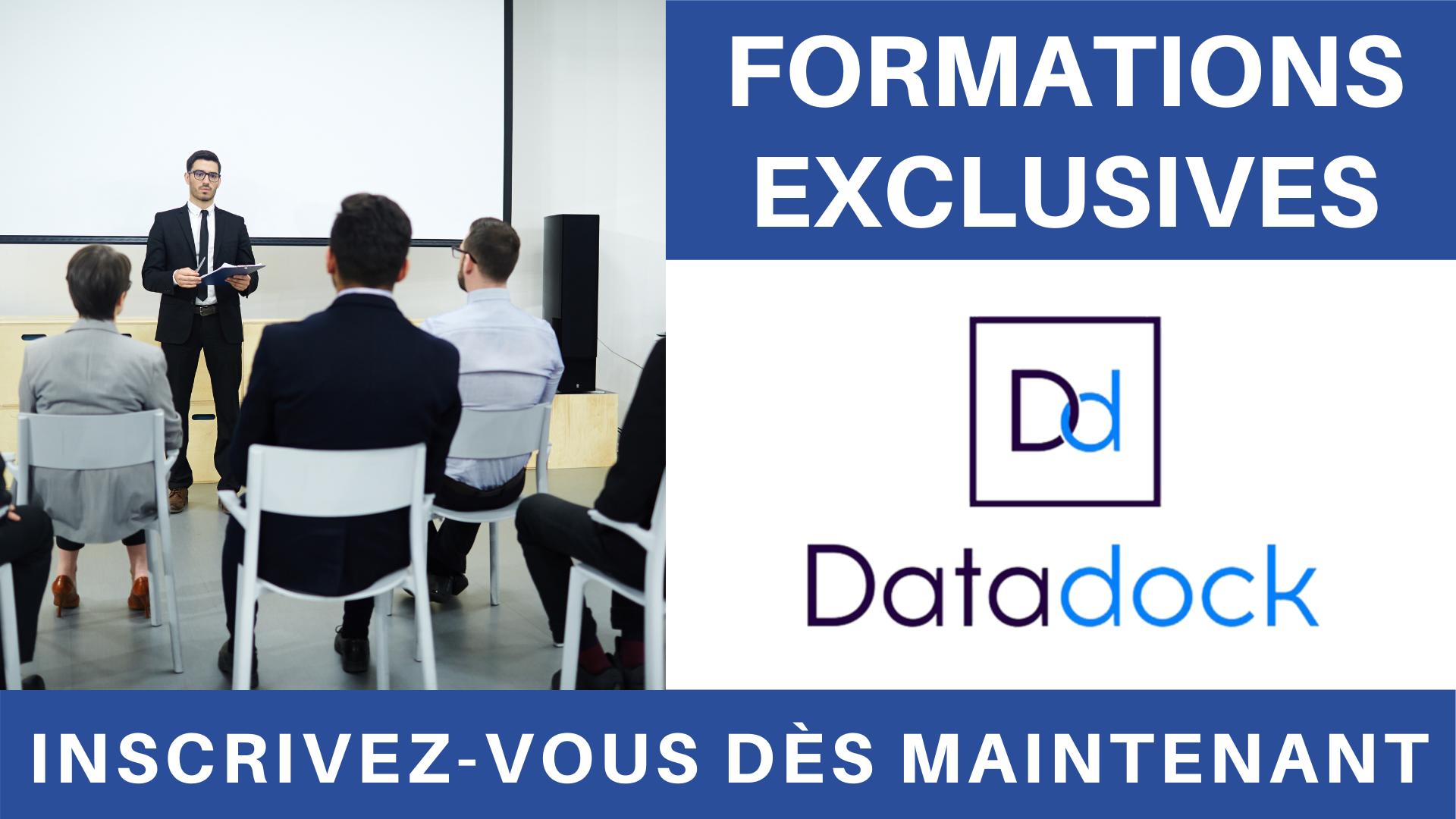 Vidéo - Formation Datadock
