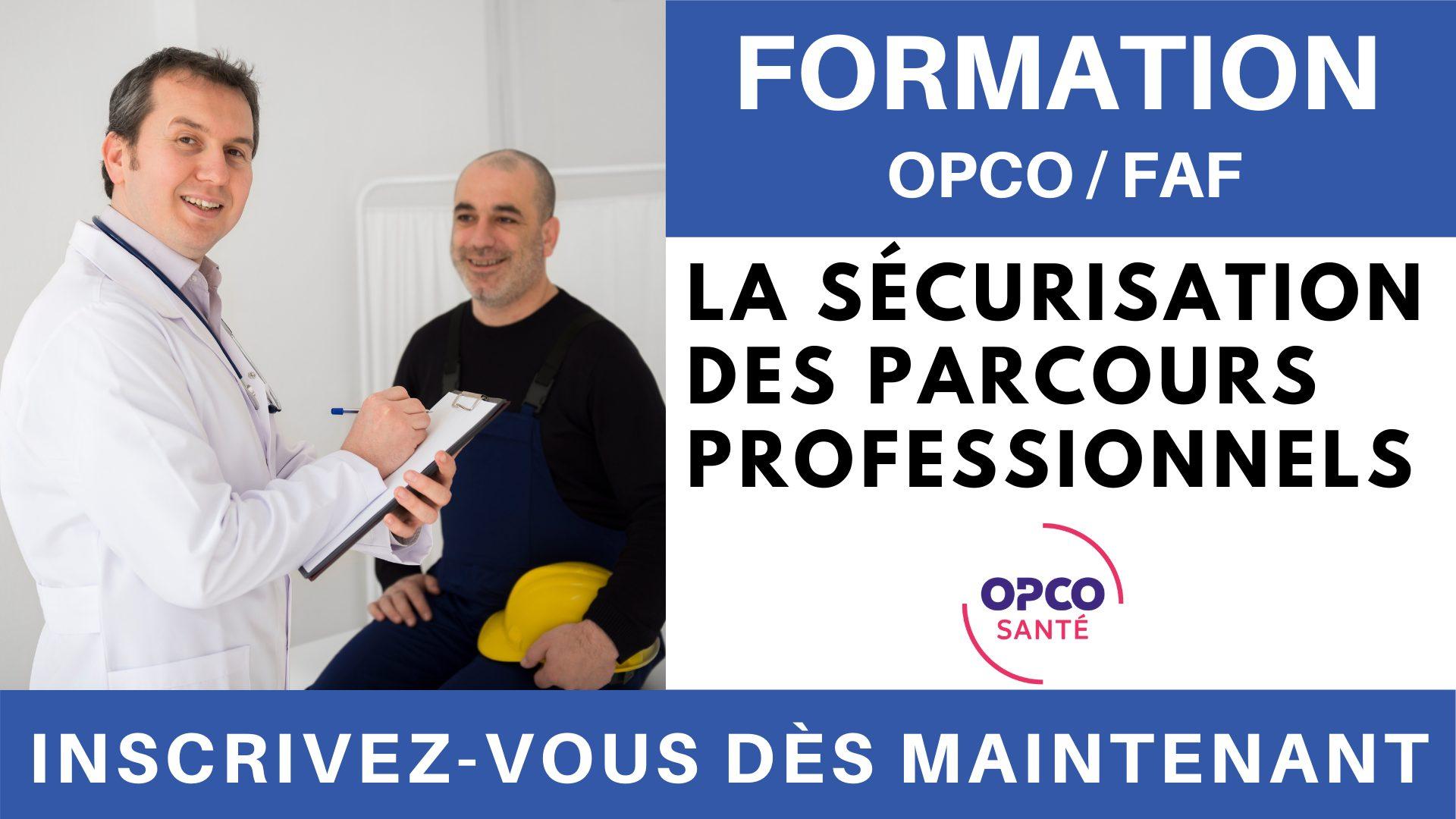 Formation OPCO FAF - La sécurisation des parcours professionnels
