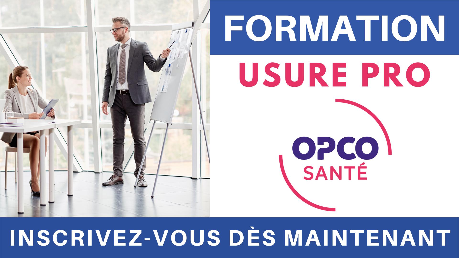 Formation Usure professionnelle OPCO Santé UNIFAF