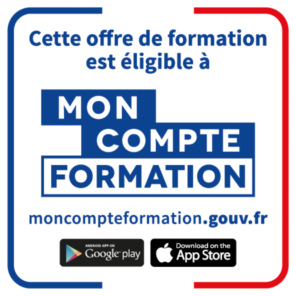 Formation éligible CPF - Compte personnel de formation