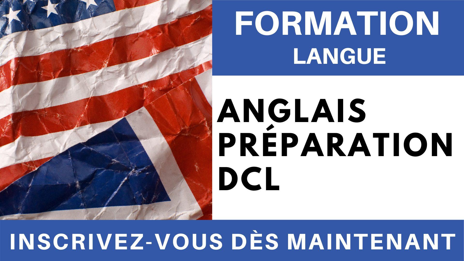 Formation Langue - Anglais Préparation DCL
