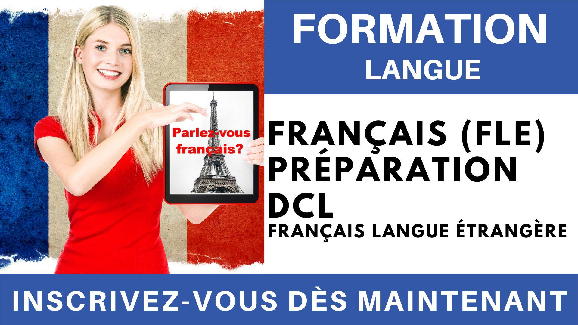 Formation Langue - Français Langue étrangère Préparation DCL