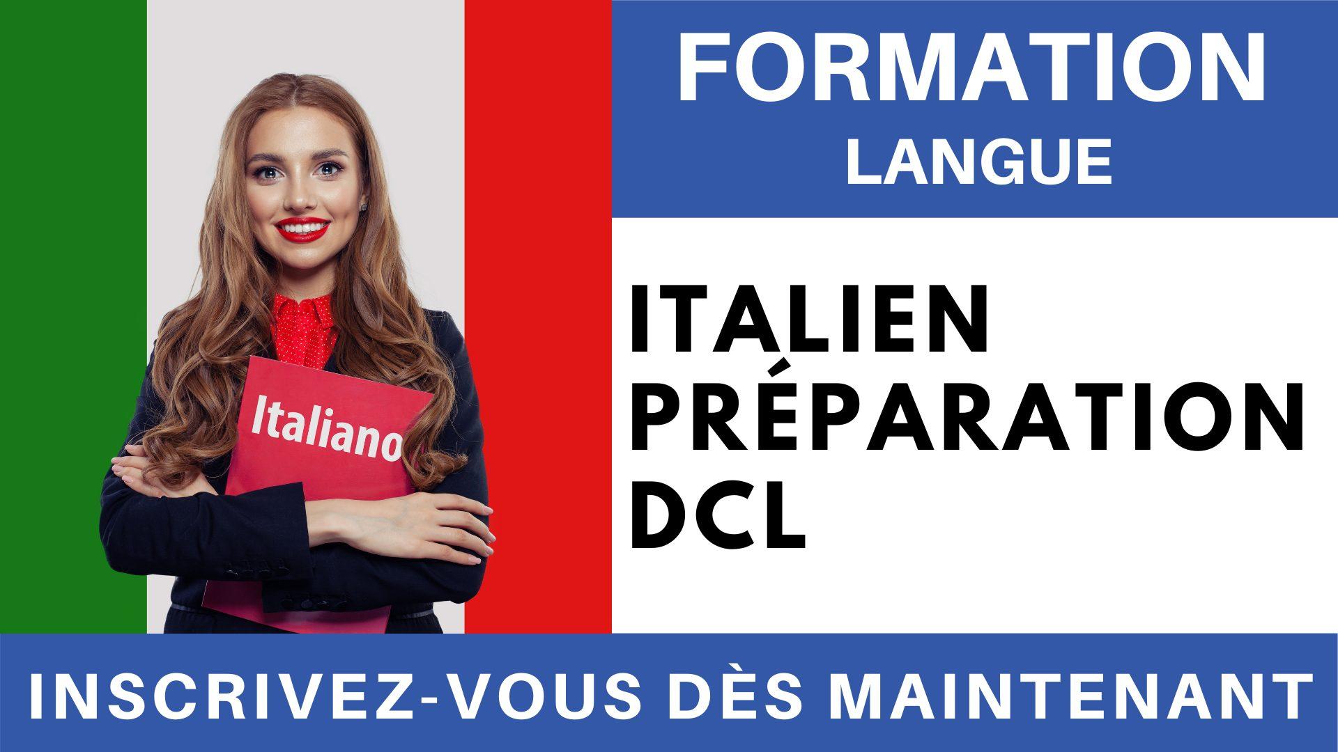 Formation Langue - Italien Préparation DCL
