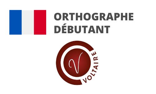 Formation Orthographe Préparation Voltaire débutant
