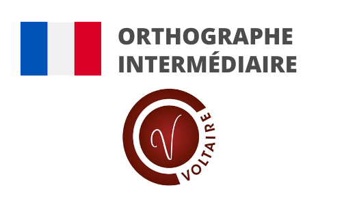Formation Orthographe Préparation Voltaire intermédiaire