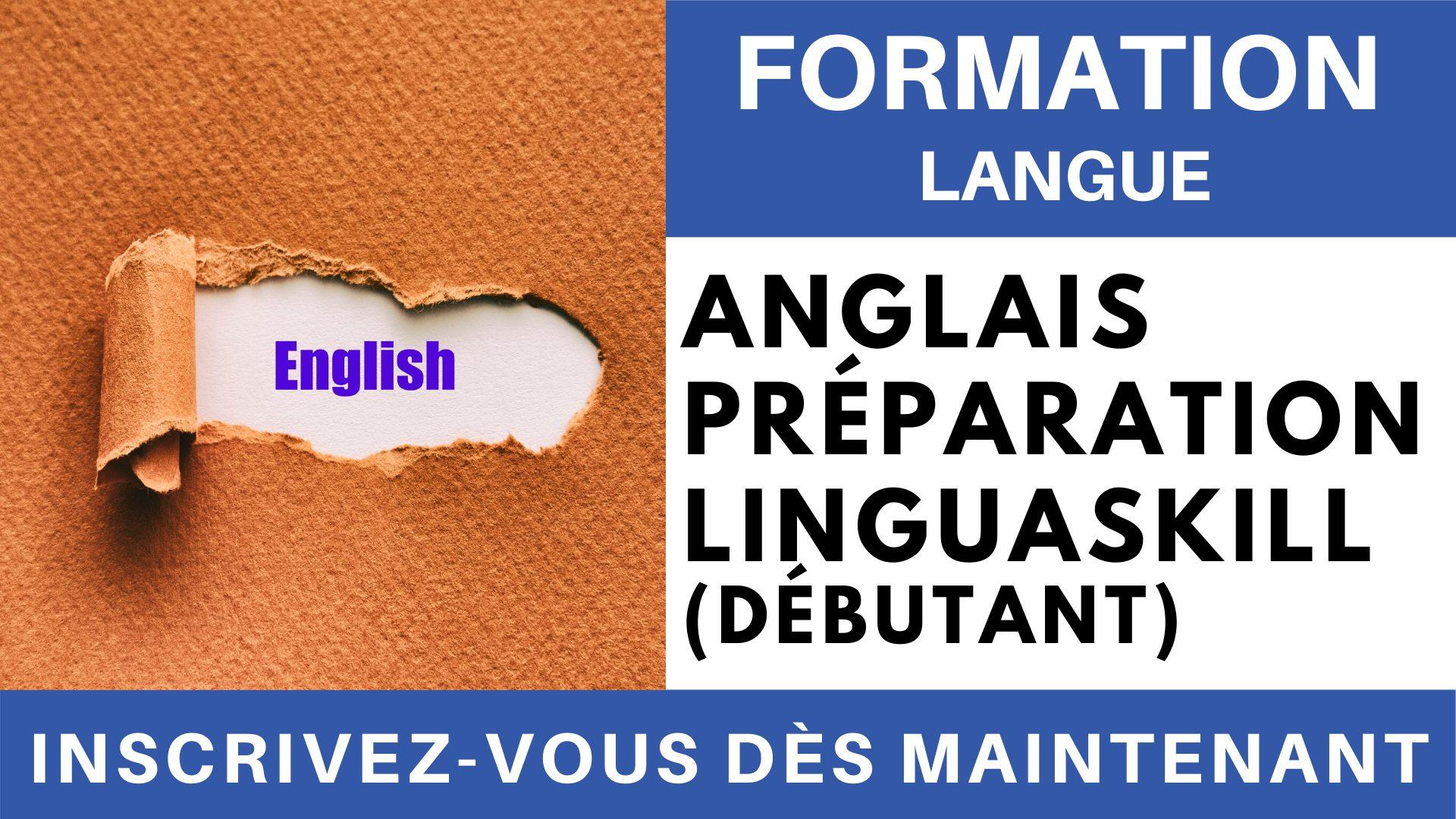 Formation Langue - Anglais Préparation LINGUASKILL Général - Niveau débutant