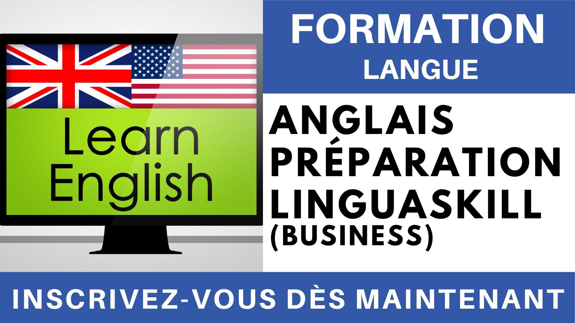 Formation Langue - Anglais Préparation linguaskill Business affaires Expression Orale
