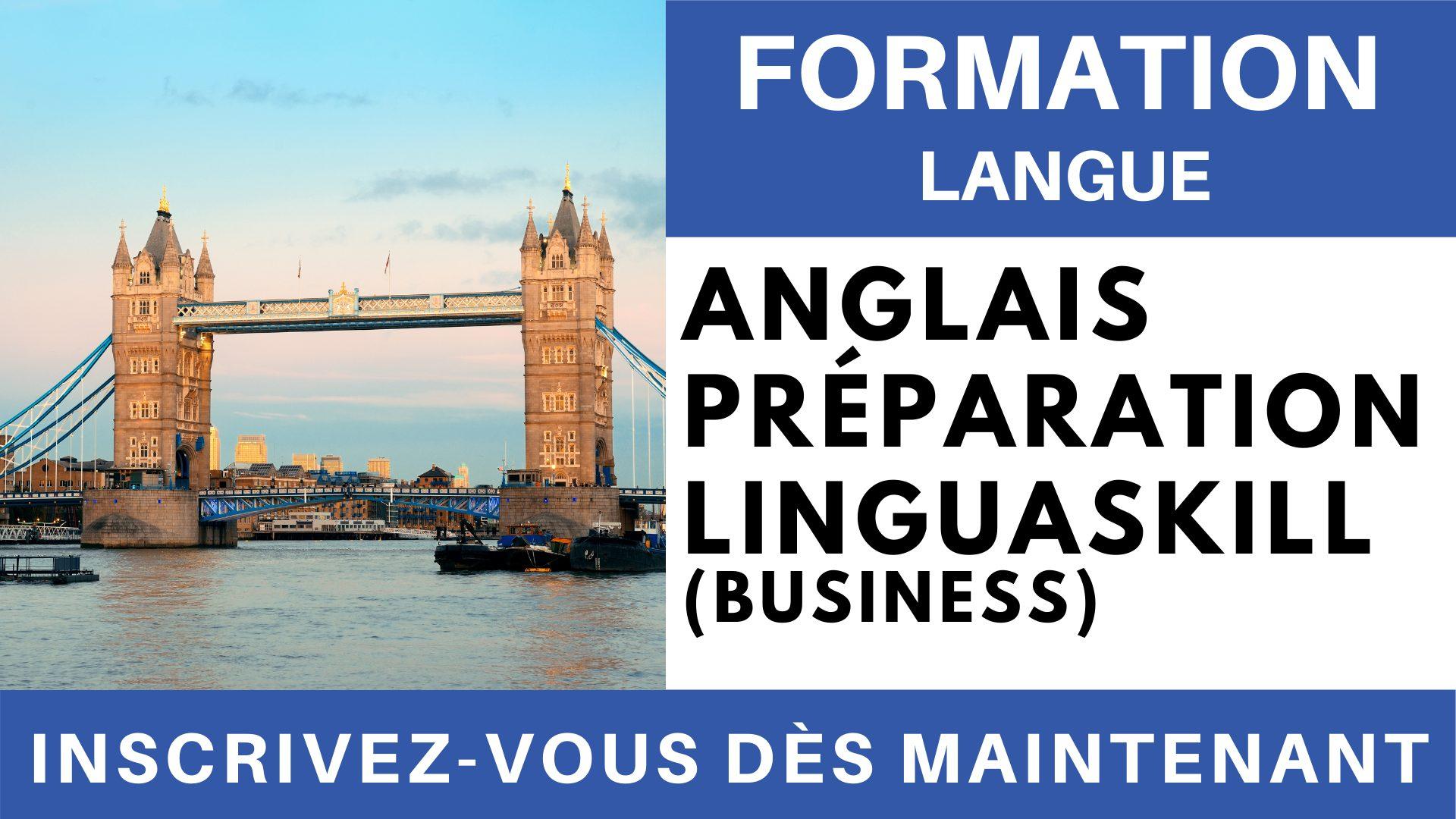 Formation Langue - Anglais Préparation linguaskill Business affaires Expression écrite
