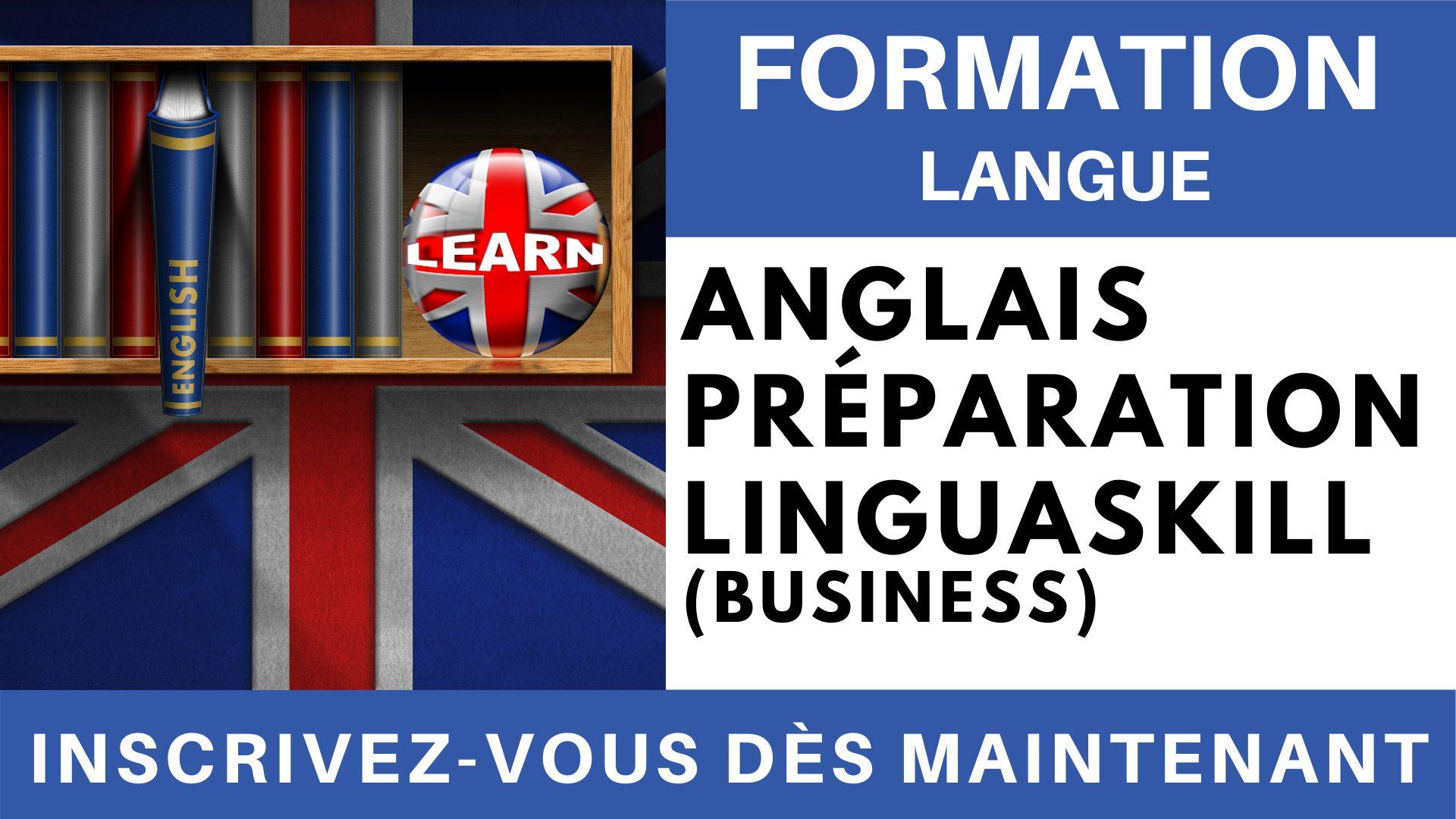 Formation Langue - Anglais Préparation linguaskill Business affaires compréhension