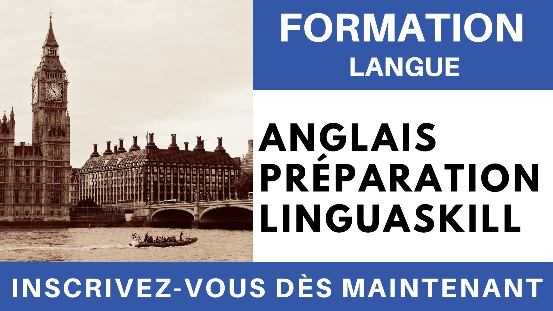 Formation Langue - Anglais Préparation linguaskill Général Expression Orale