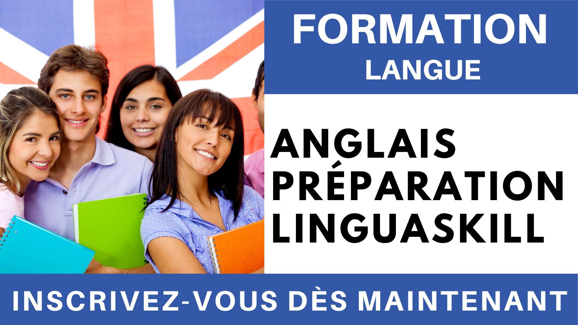 Formation Langue - Anglais Préparation linguaskill Général Expression écrite
