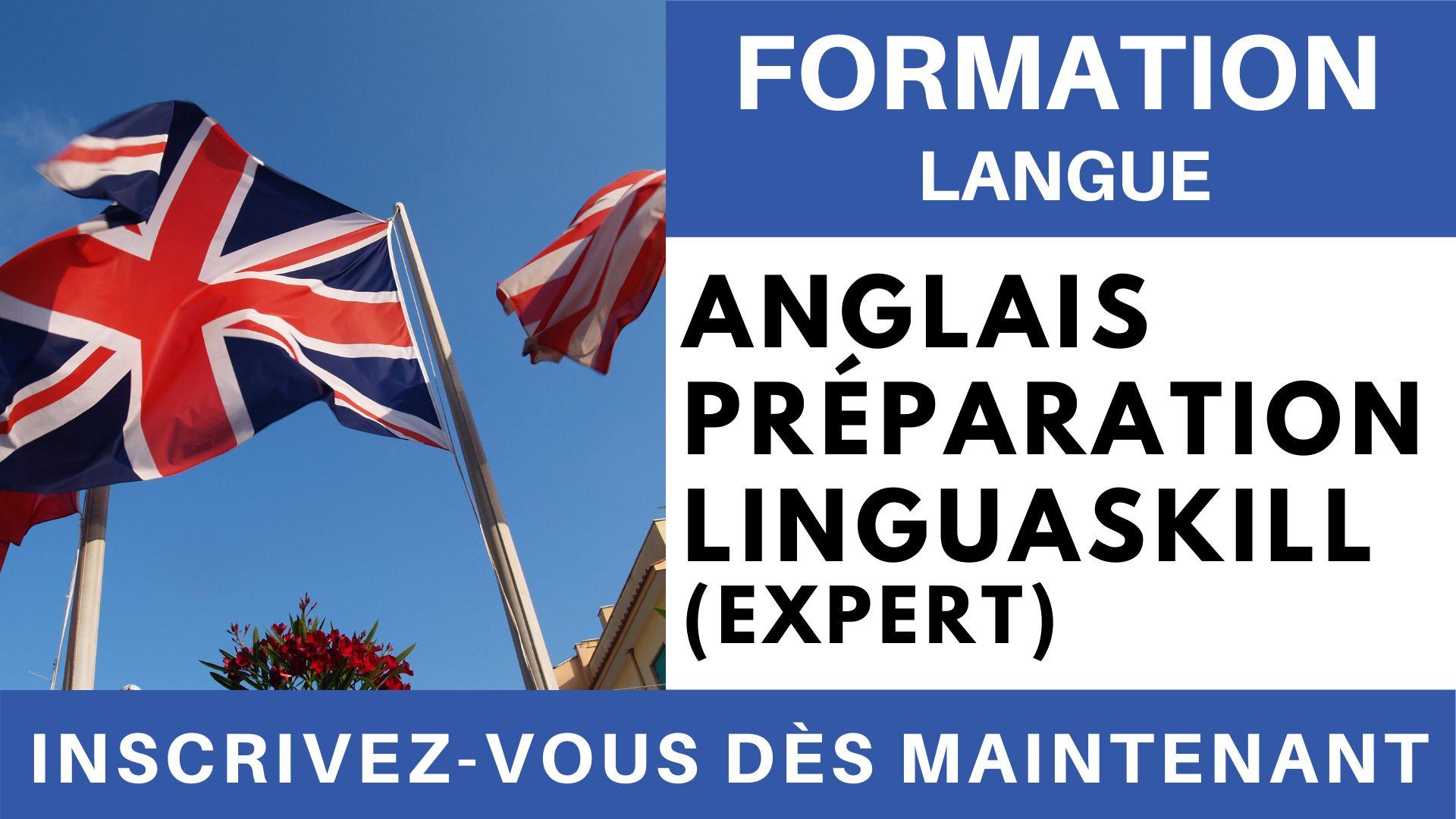 Formation Langue - Anglais Préparation linguaskill Niveau Expert