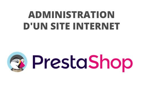 Formation Administration d'un site Internet Prestashop