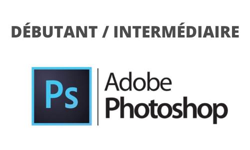 Formation Adobe Photoshop débutant intermédiaire