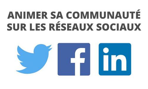 Formation Animer sa communauté sur les réseaux sociaux