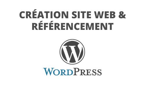 Formation Création site Internet Wordpress et référencement