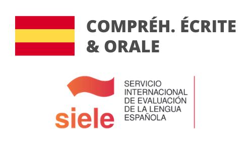 Formation Espagnol Compréhension écrite et orale Préparation SIELE