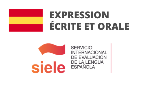 Formation Espagnol Expression écrite et orale Préparation SIELE
