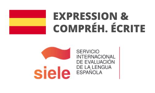 Formation Espagnol Expression et compréhension écrite Préparation SIELE
