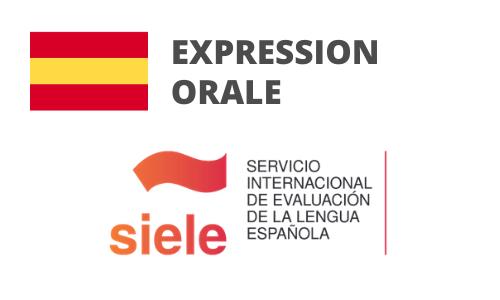 Formation Espagnol Expression orale Préparation SIELE