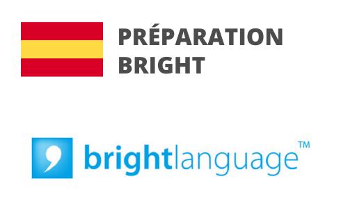 Formation Espagnol Préparation BRIGHT