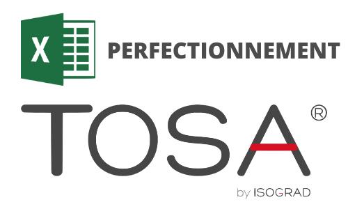 Formation Excel Perfectionnement Préparation TOSA