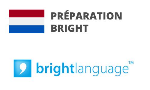 Formation Flamand Néerlandais Préparation BRIGHT