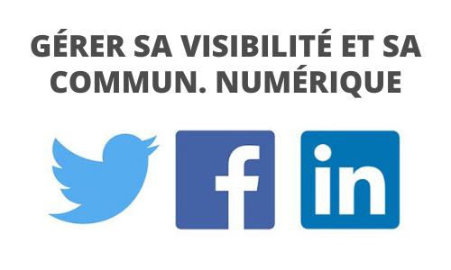 Formation Gérer sa visibilité et communication numérique