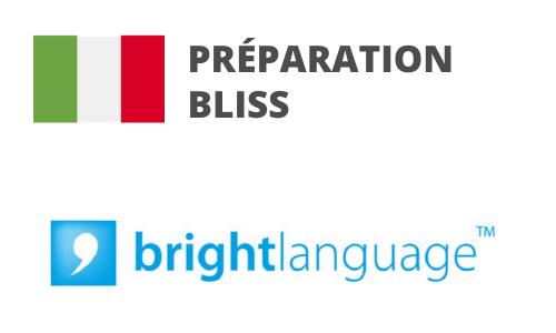 Formation Italien Préparation BLISS