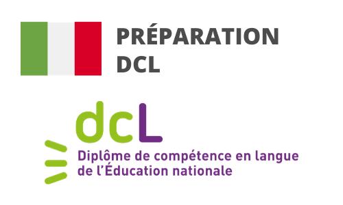 Formation Italien Préparation DCL