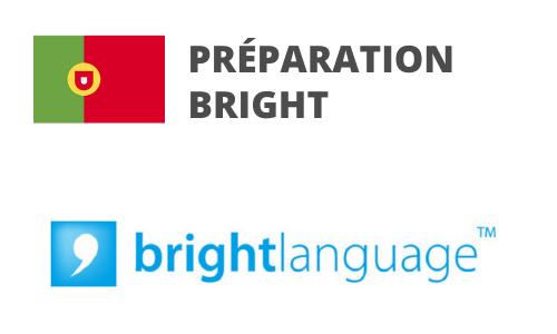 Formation Portugais Préparation BRIGHT