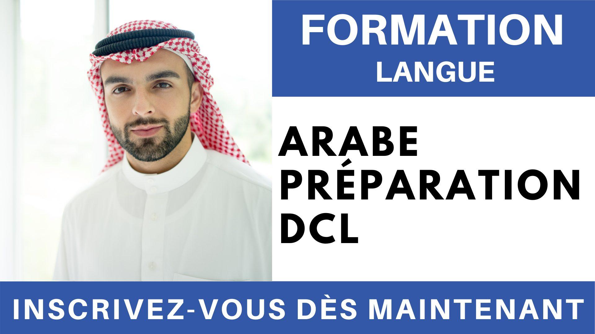 Formation Langue - Arabe Préparation DCL