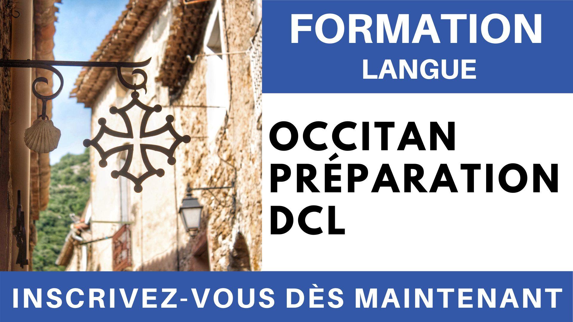 Formation Langue - Occitan Préparation DCL