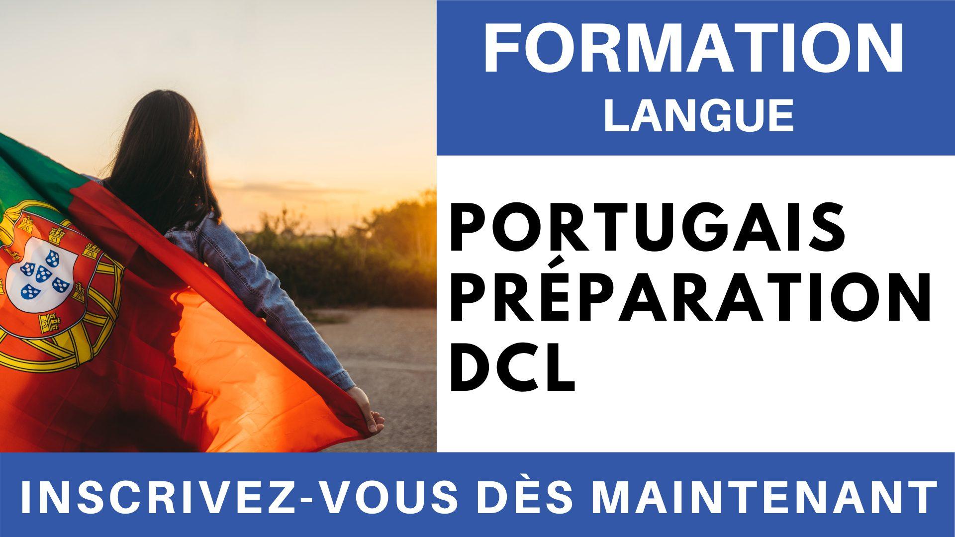 Formation Langue - Portugais Préparation DCL
